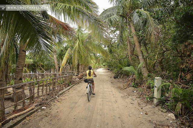 Biking around Batanes, Philippines