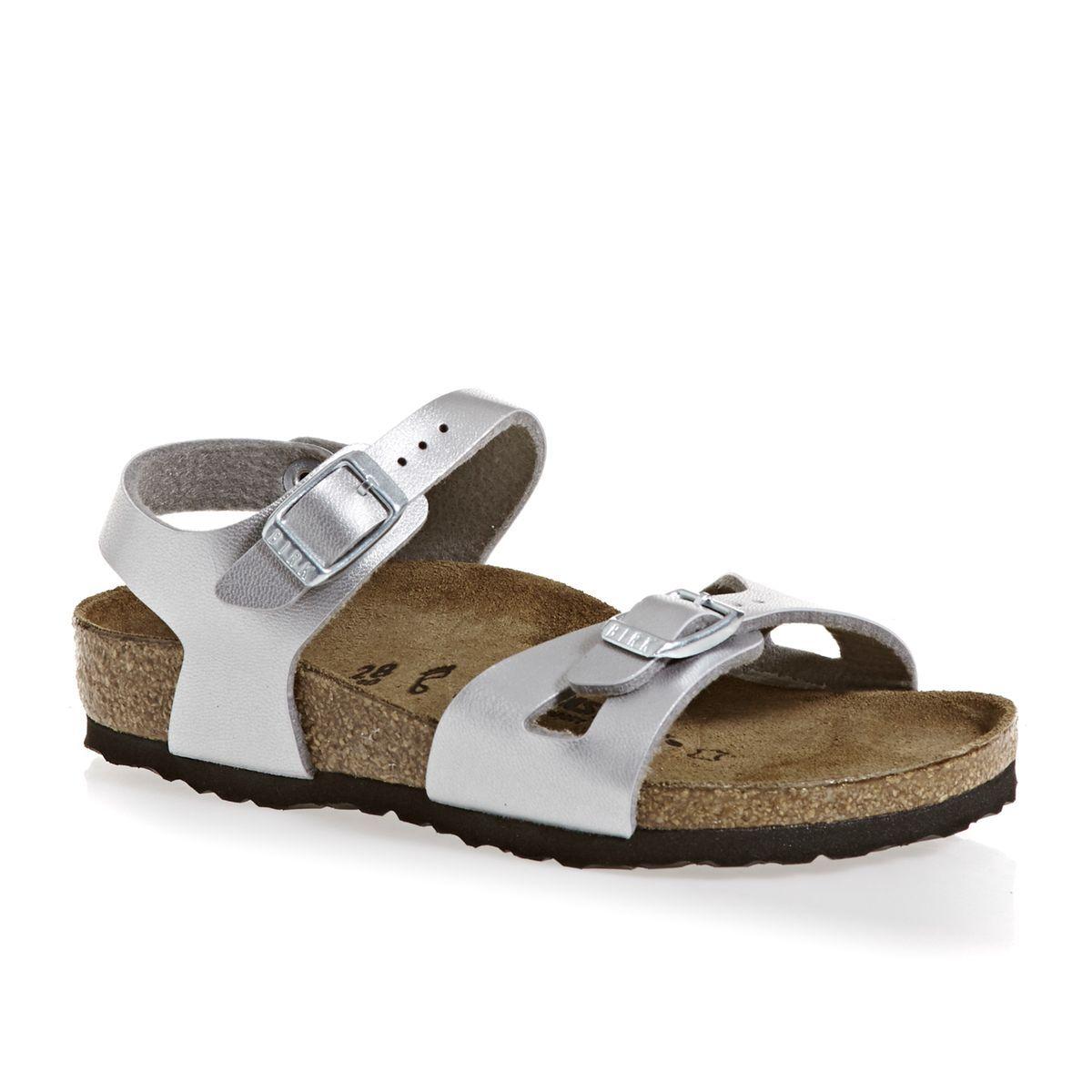 Birkenstock Rio Kids Birkoflor Regular Girls Sandals   Shoes