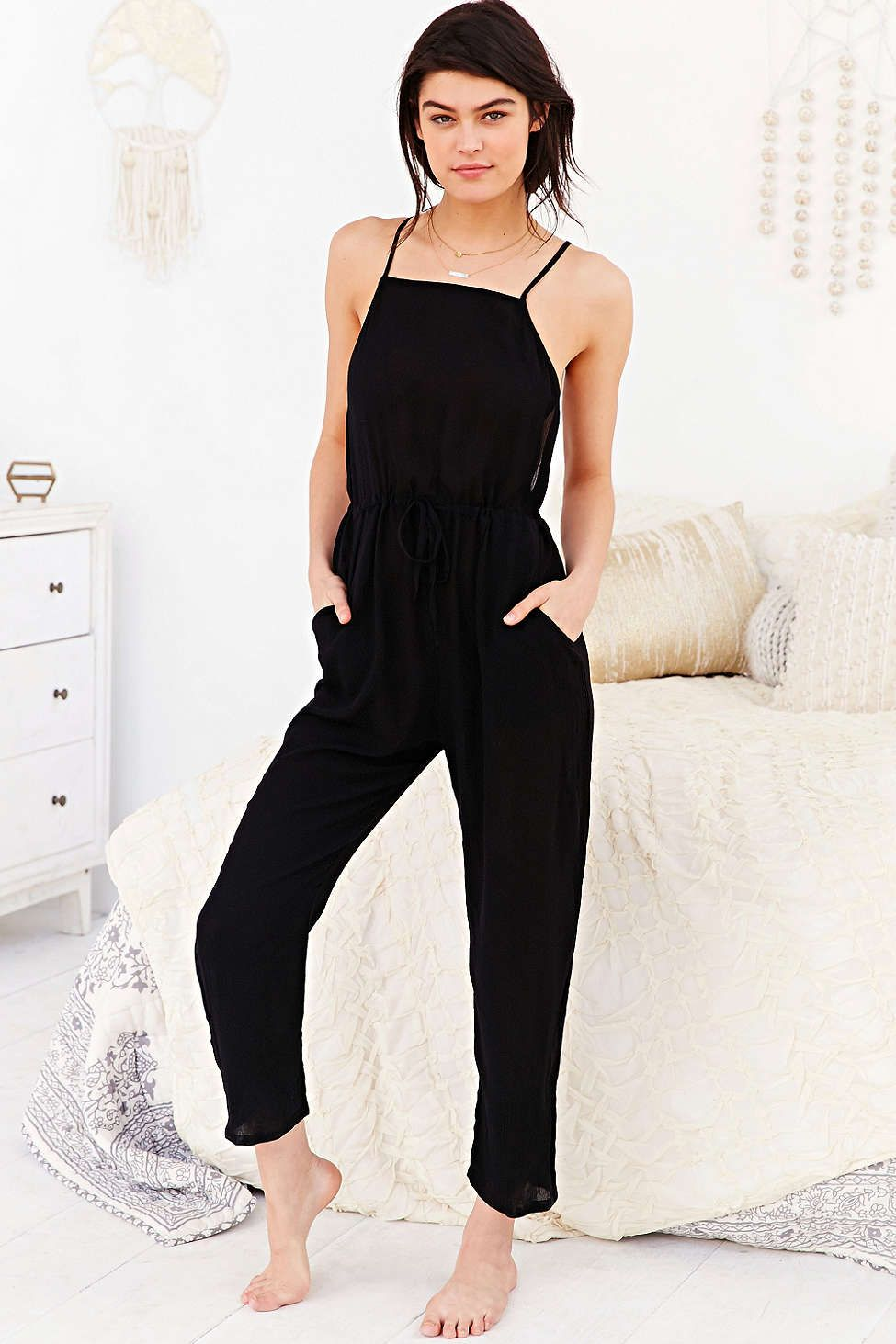 936d743d4359 Out From Under Open-Back Jumpsuit - Urban Outfitters