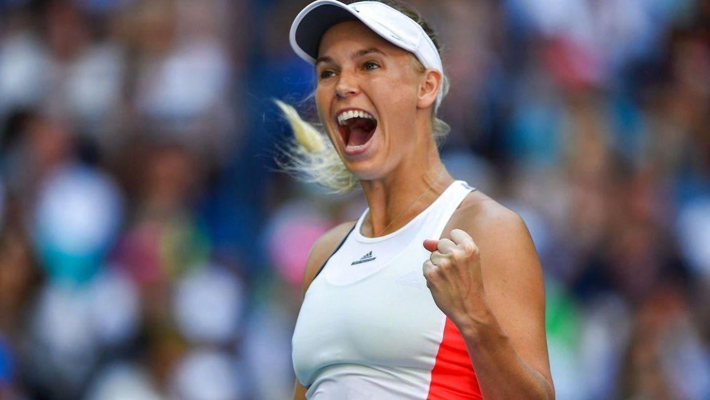 Wozniacki i kvartfinalen efter vild forvandling: Her er hendes første ord
