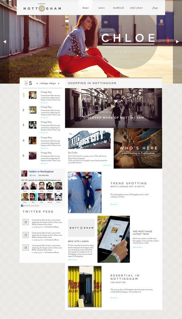 In Nottingham On Web Design Served Portal Design News Web Design Web Layout Design