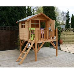 Merveilleux Image Result For Kids Play House On Stilts With Deck