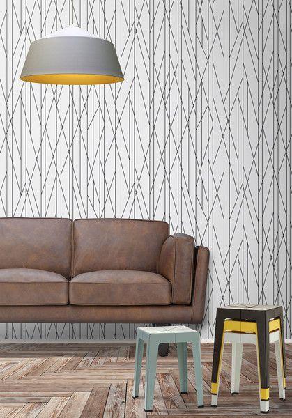 Nixon Wallpaper By Ingrid Mika For Milton King Modern Scandinavian Interior Scandinavian Interior Design Scandinavian Interior