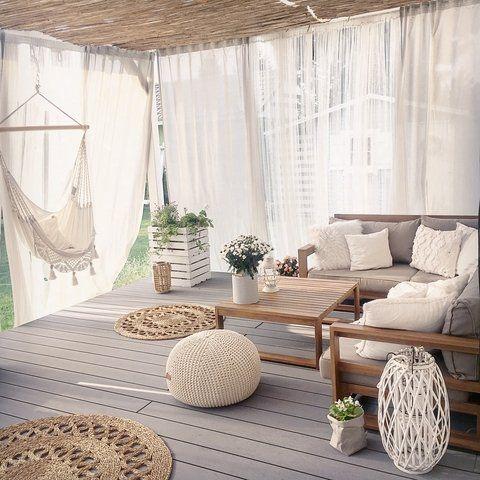5 Piece Garden Sofa Set Acacia Wood TIMOR
