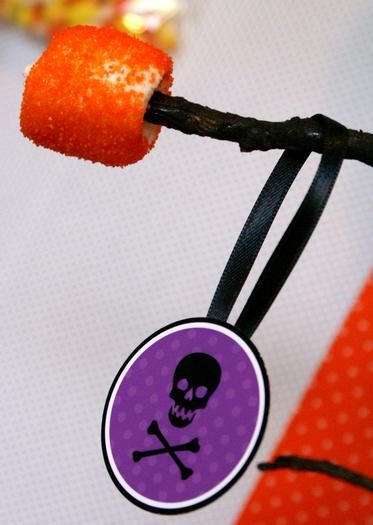 marshmallow decorations for backdrop; Hostess with the Mostess® - Happy Halloween Design Collection