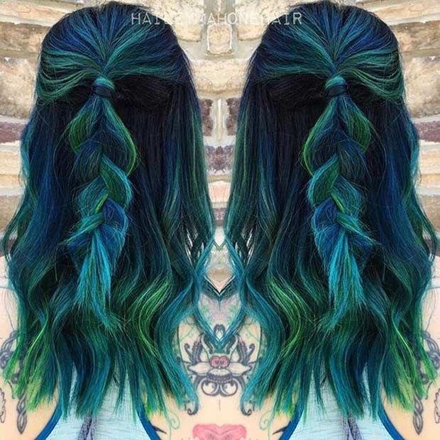 31 Colorful Hair Looks to Inspire Your Next Dye Jo