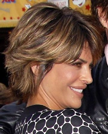 Image result for Lisa Rinna Short Hairstyles Back View Stacked Bob ...