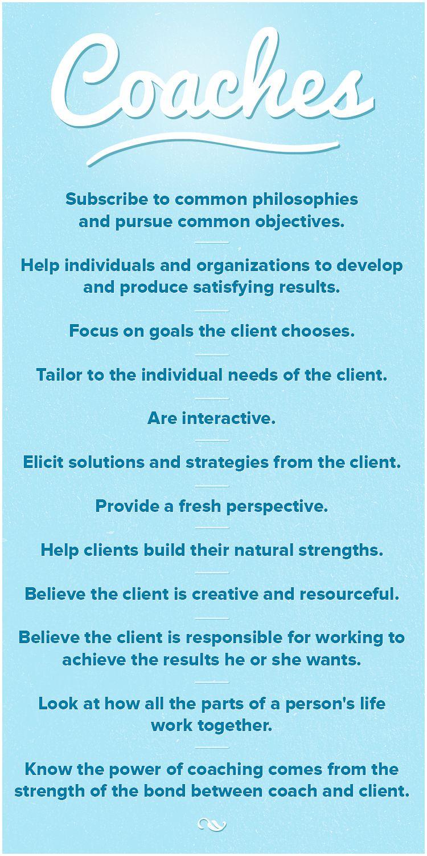 Qualities of coaches