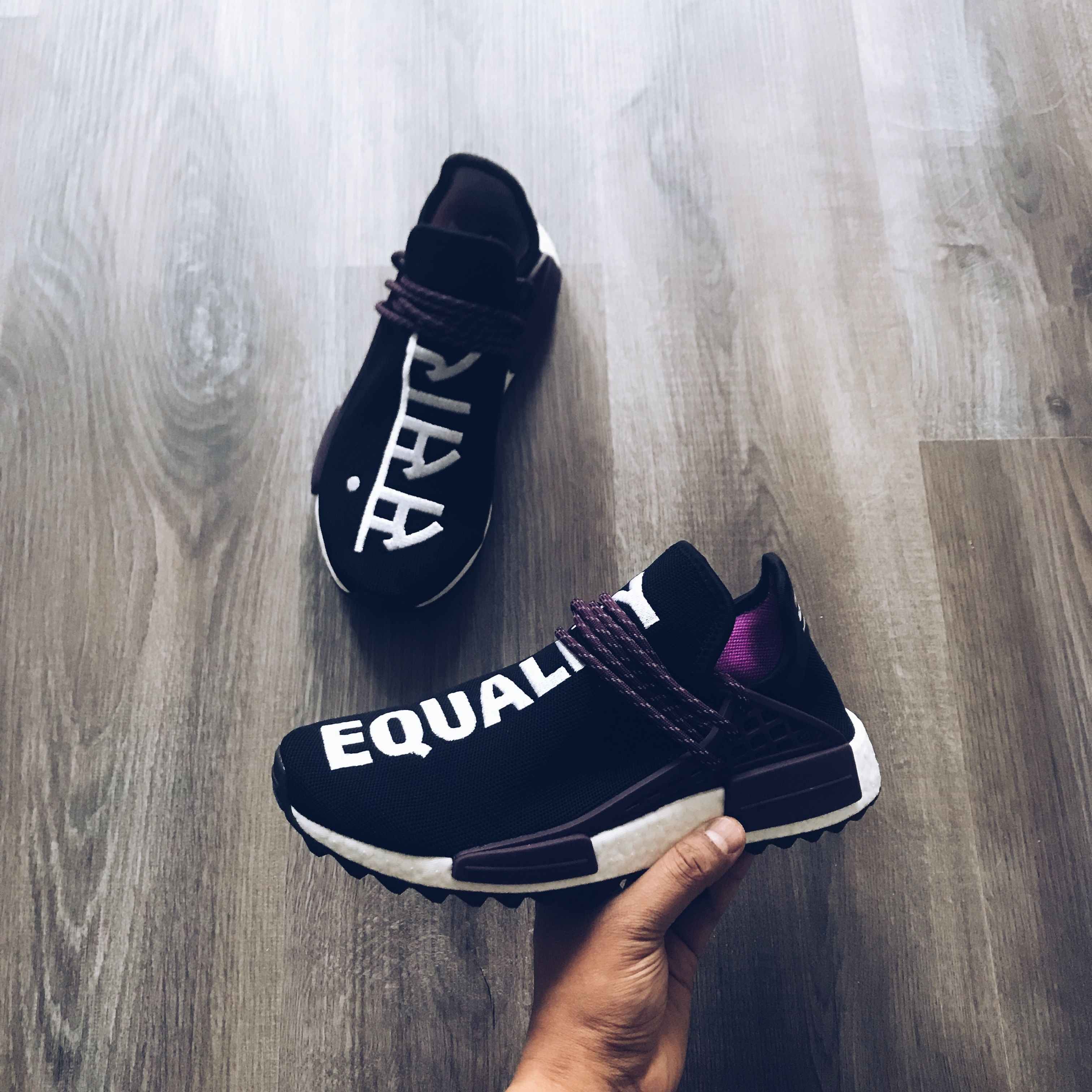 534fa01fc adidas Originals x Pharrell Williams Hu Holi NMD MC human race ...
