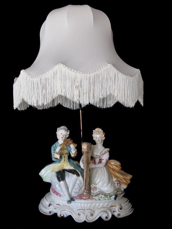 Capodimonte Figurine Lamps | Capodimonte Figurine Lamp (SE-275-L ...