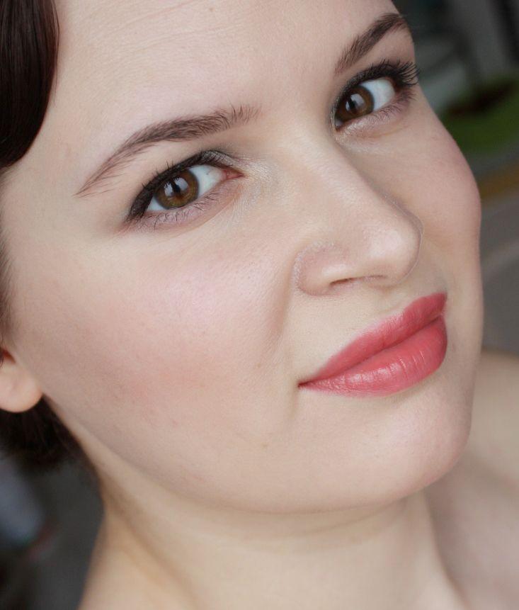 Помада Shiseido Perfect Rouge PK249 отзыв и макияж. | Elia Chaba