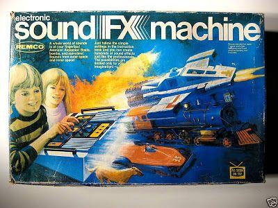 Electronic sound FX machine