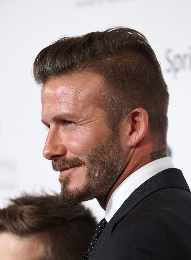 David Beckham Hairstyle Picture Gallery Haircut Pinterest