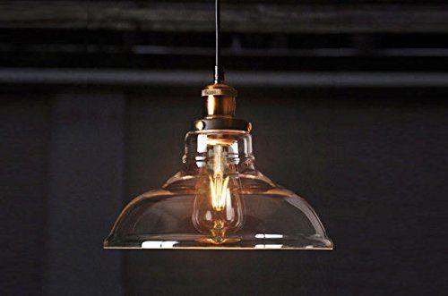 Plafoniere Industriali Vintage : Lampada a sospensione vintage feven lampadario stile illuminazione