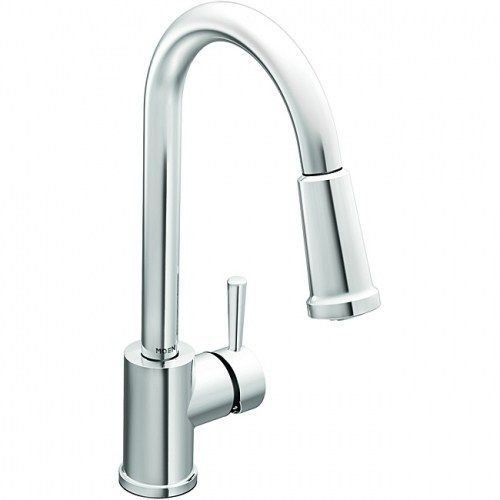 sprayer kitchen faucet chrome featuring reflex moen home garden home improvement faucets kitchen faucets