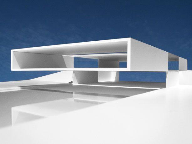 Fran silvestre arquitectos casa del sol maquetas for Casa minimalista maqueta