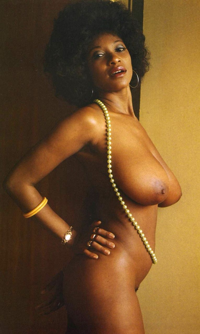 Vintage big black boobs