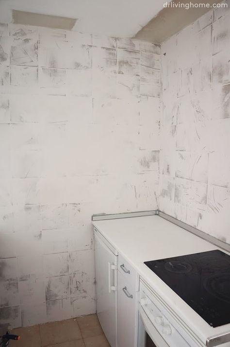 C mo tapar azulejos manualidades y pintura en 2019 - Tapar azulejos cocina ...