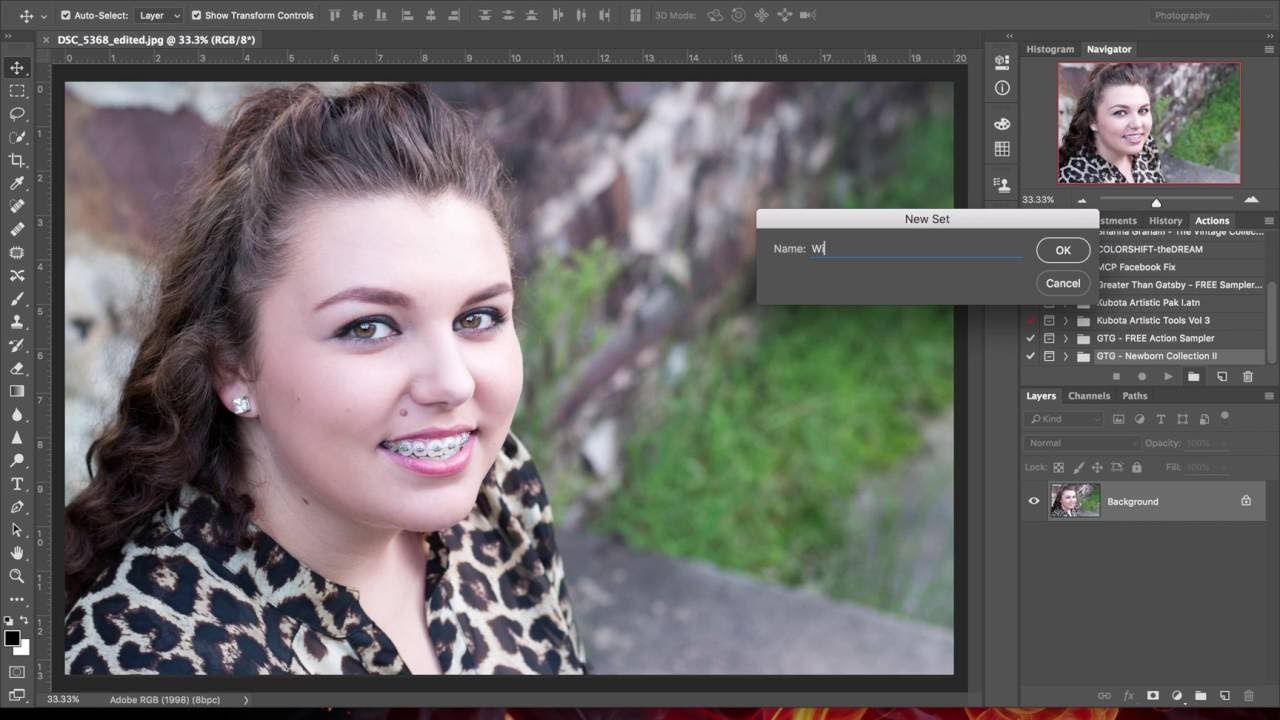 Add a Watermark or Logo to Multiple Images in Adobe