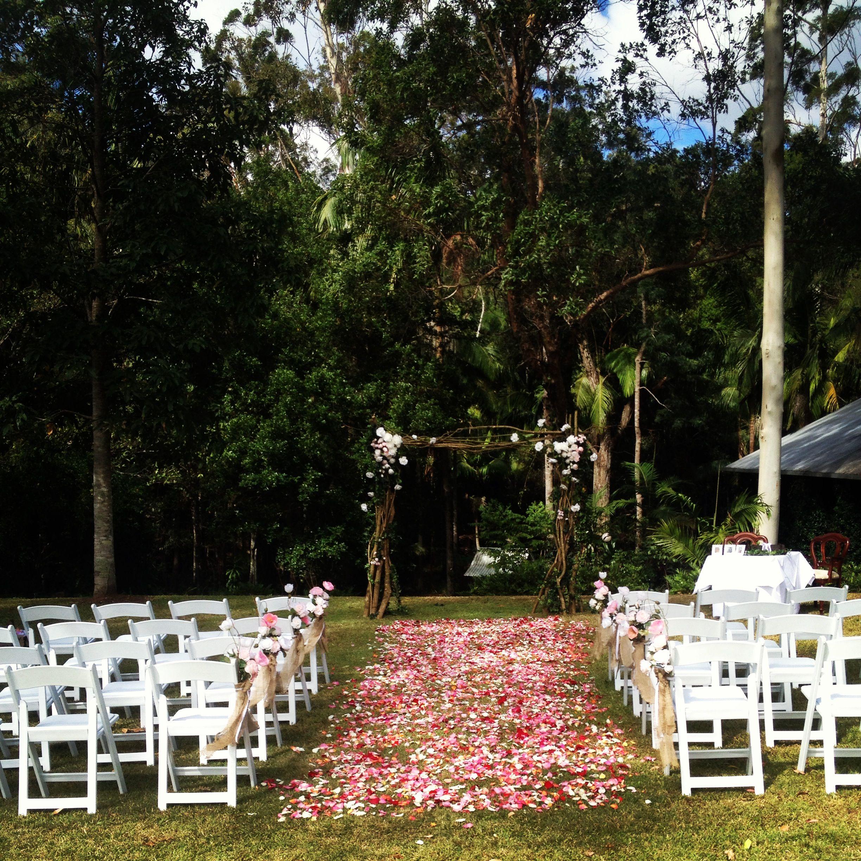 Rainforest Wedding Ceremony and Reception Weddings