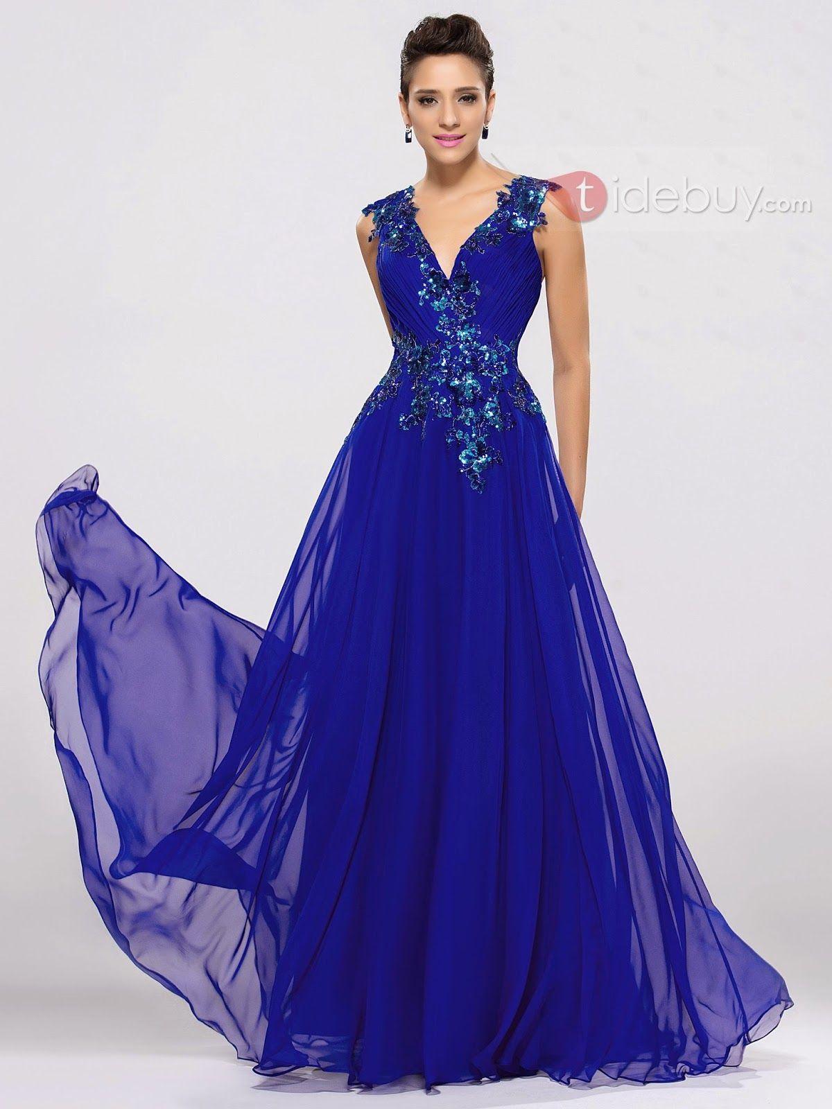 Exclusivos vestidos de noche formales para señoritas | vestidos ...
