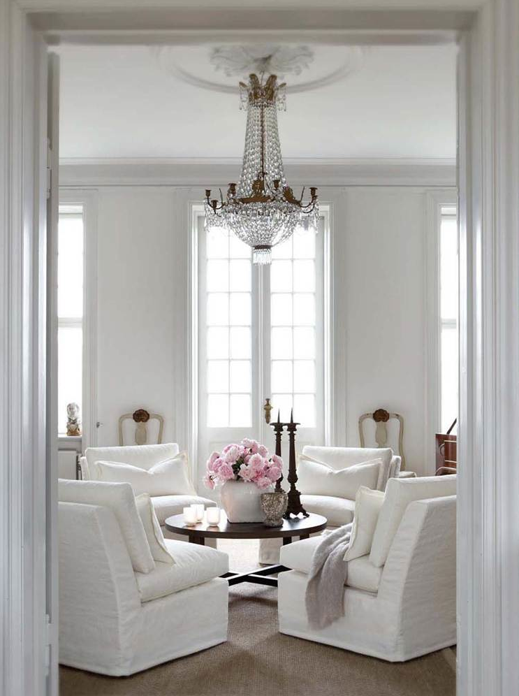 Furniture and Accessories to Live With - lookslikewhite Blog - lookslikewhite    Montgolfier chandelier. Norwegian interior
