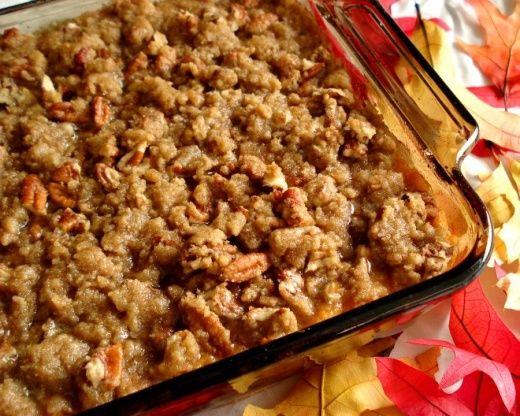 Southern Sweet Potato Casserole Recipe  - Food.com #sweetpotatocasserole