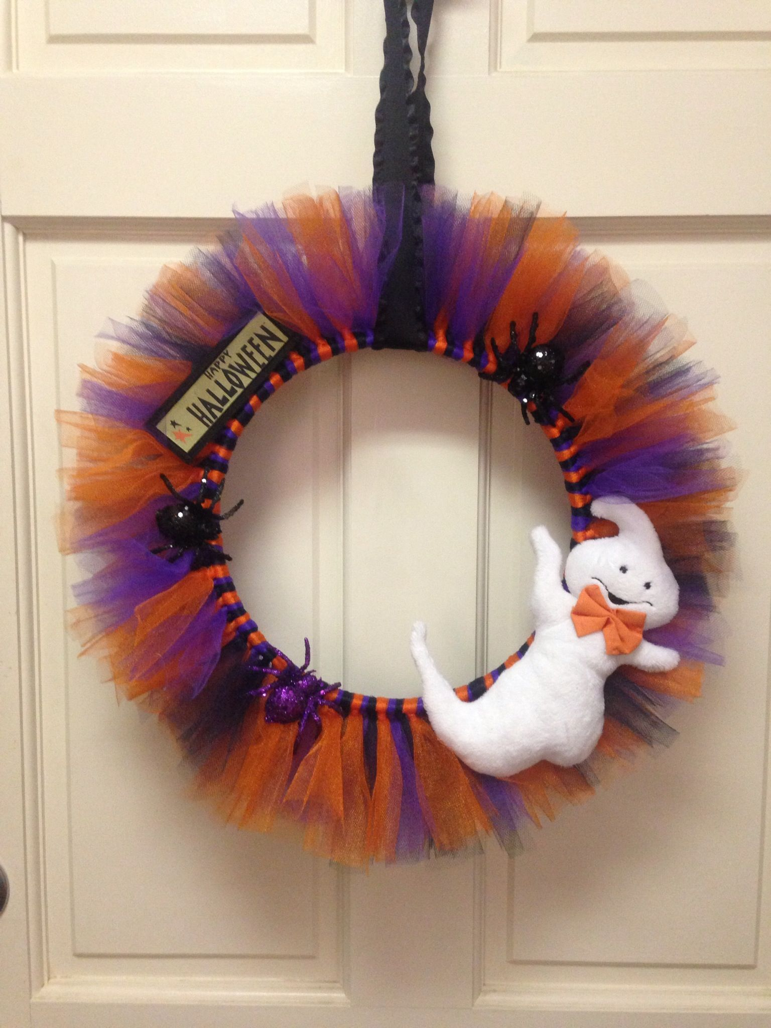 Super Cute Tulle Wreath You Can Make One For Any Holiday