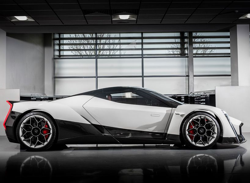 vanda's dendrobium electric hypercar unveiled at the geneva motor show