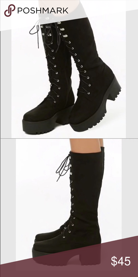 535f0133d47 Brand new never worn! Forever 21 boots. NWT | My Posh Picks ...