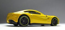 The Lamley Group First Look 2014 Hot Wheels Ferrari F12 Berlinetta In Yellow Hot Wheels Ferrari F12 Ferrari