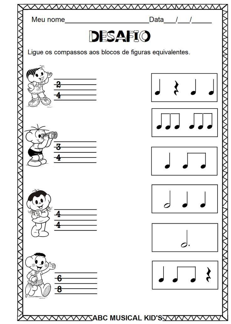 Atividades De Educacao Infantil E Musicalizacao Infantil