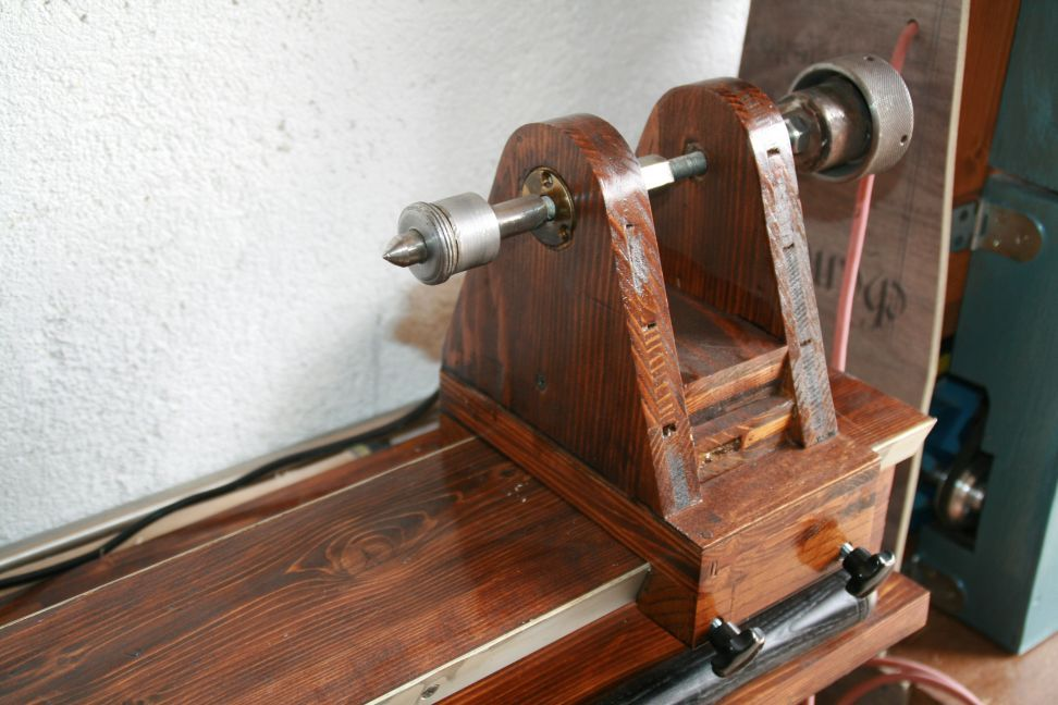 Homemade Wood Lathe Plan PDF Woodworking | Homemade lathe ...