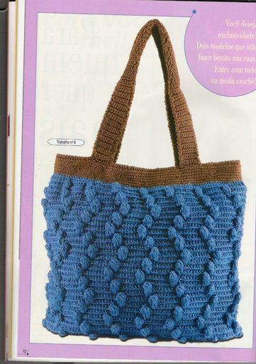 crochet - several nice crocheted purses and totes