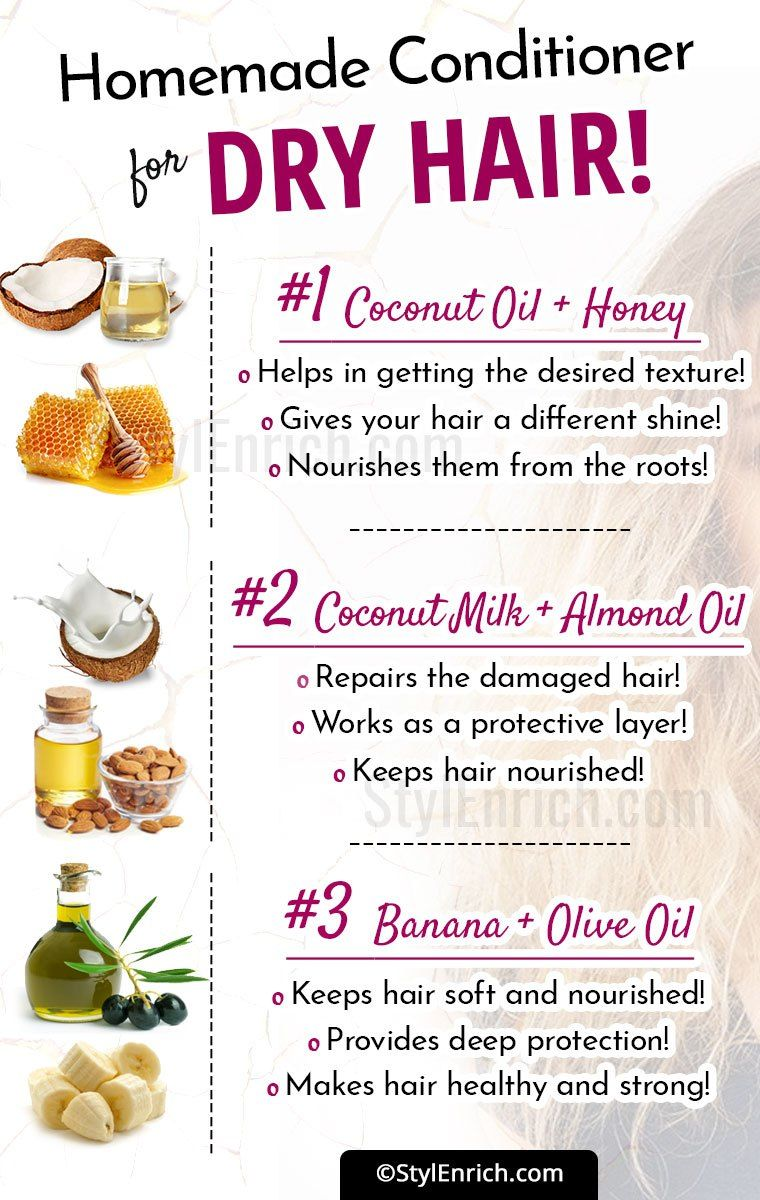 Recipes For Homemadeconditionerfordryhair Homemade Hair Products Homemade Conditioner Dry Hair