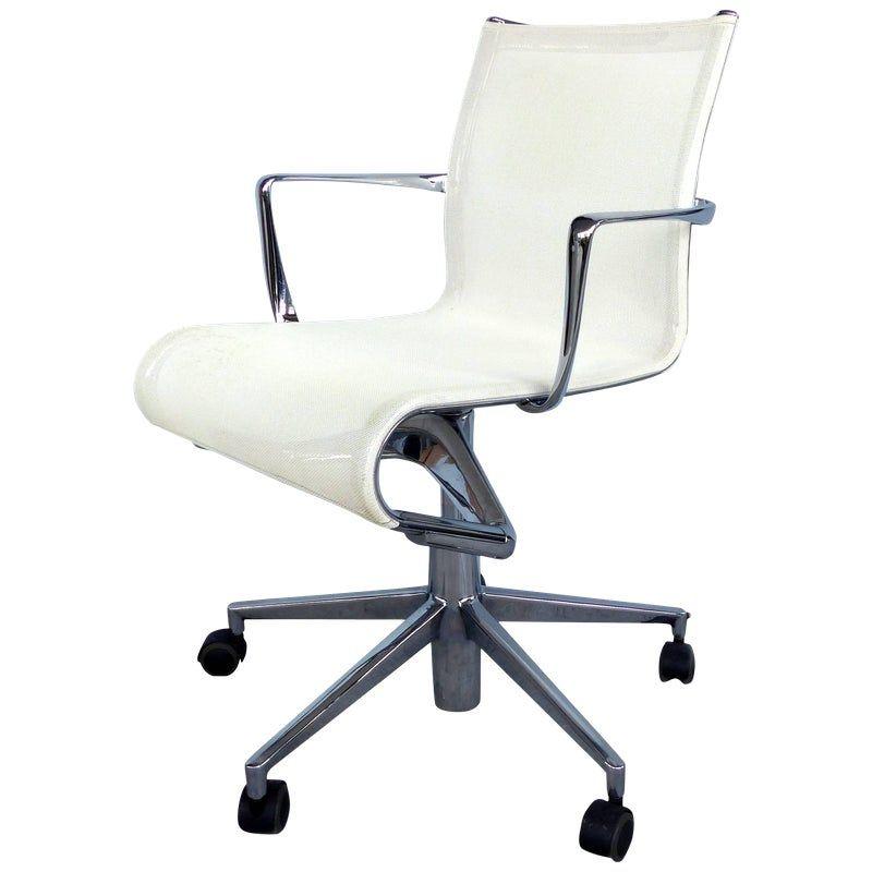 Contemporary Alberto Meda For Alias Rolling Frame Swivel Chair