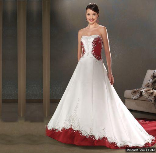 trajes de novia con corset