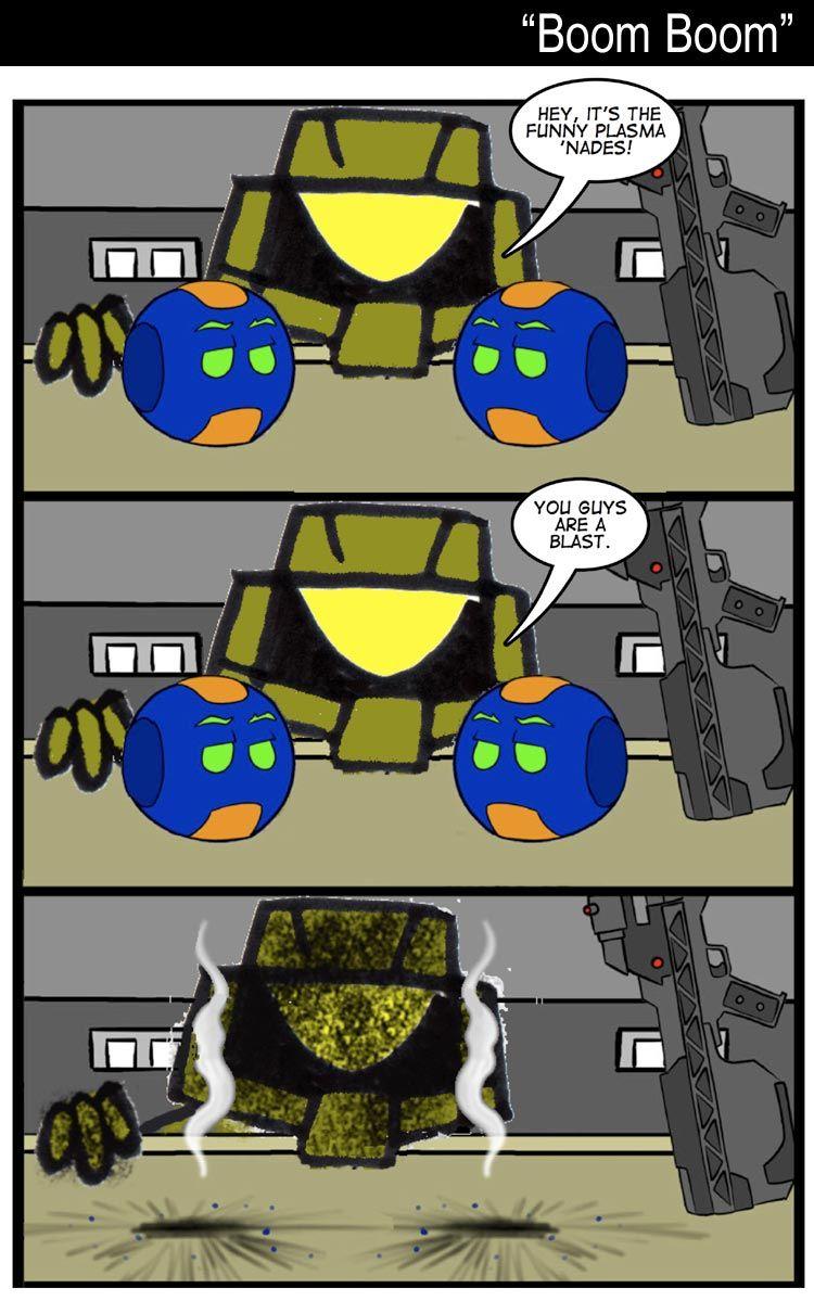 Halo comic strips
