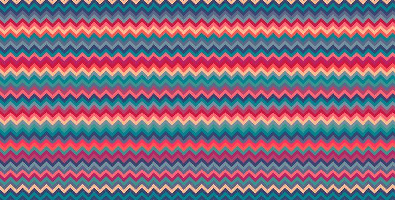 Crevron Aztec #estampa #print #pattern #color #colorful #beautiful #cores…