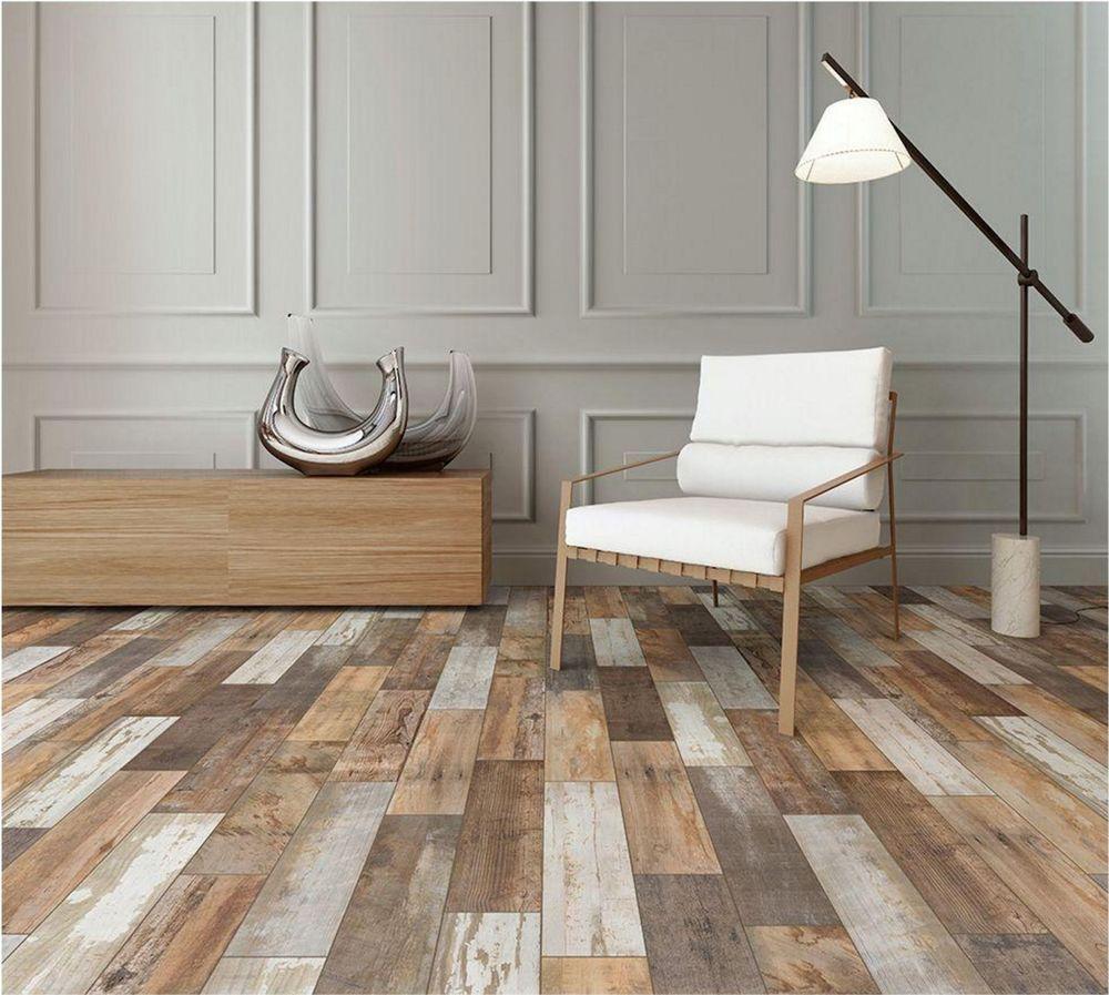 - Wood Vintage Flooring Porcelain Floor Wall Shower Kitchen