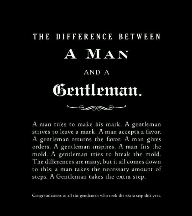 How To Be A Gentleman A Guide For The Modern Man Lest We Forget