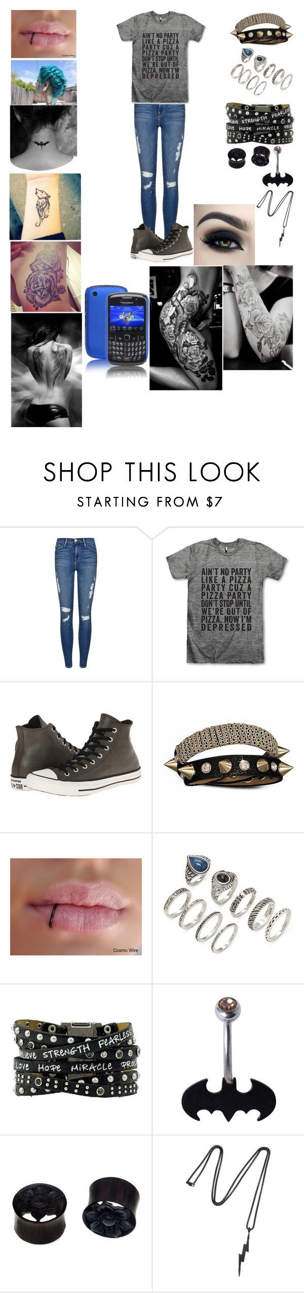 """""""another day in life"""" by galaxyunicornlover on Polyvore featuring Frame Denim, Converse, Bling Jewelry, Forever 21, NOVICA, Vitaly and Case-Mate"""