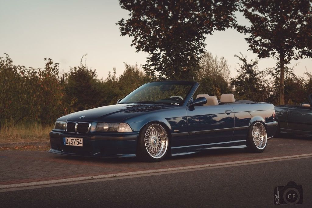avus blue bmw e36 cabrio on oem bmw styling 5 wheels bbs. Black Bedroom Furniture Sets. Home Design Ideas