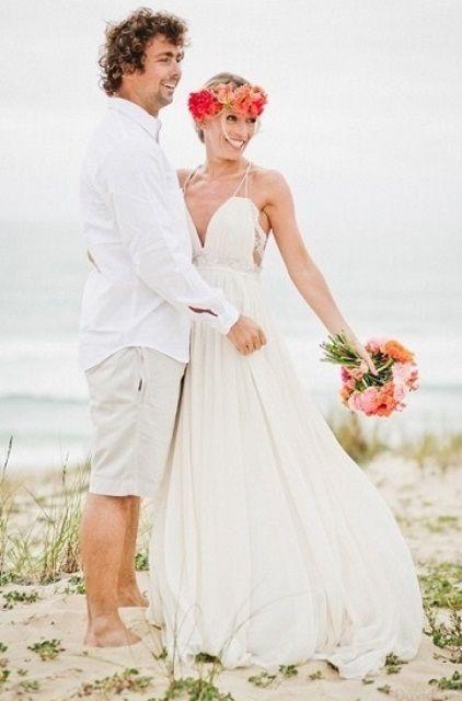 Traje do noivo | Groom\'s Attire | Pinterest | Beach wedding groom ...
