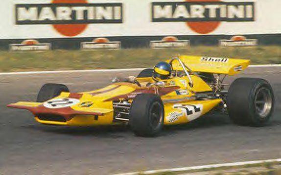 Ronnie Peterson su March-Ford 701GP Germania circuito Hockenheim 1970