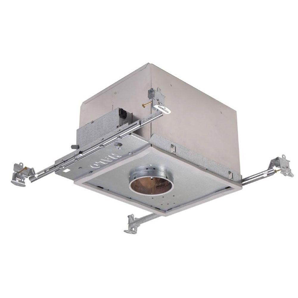 Halo H38 3 In Aluminum Recessed Lighting Housing For New Construction Shallow Ceiling Insulation Contact Air Tite Gu10 Recessed Lighting Kits New Construction Recessed Lighting Trim