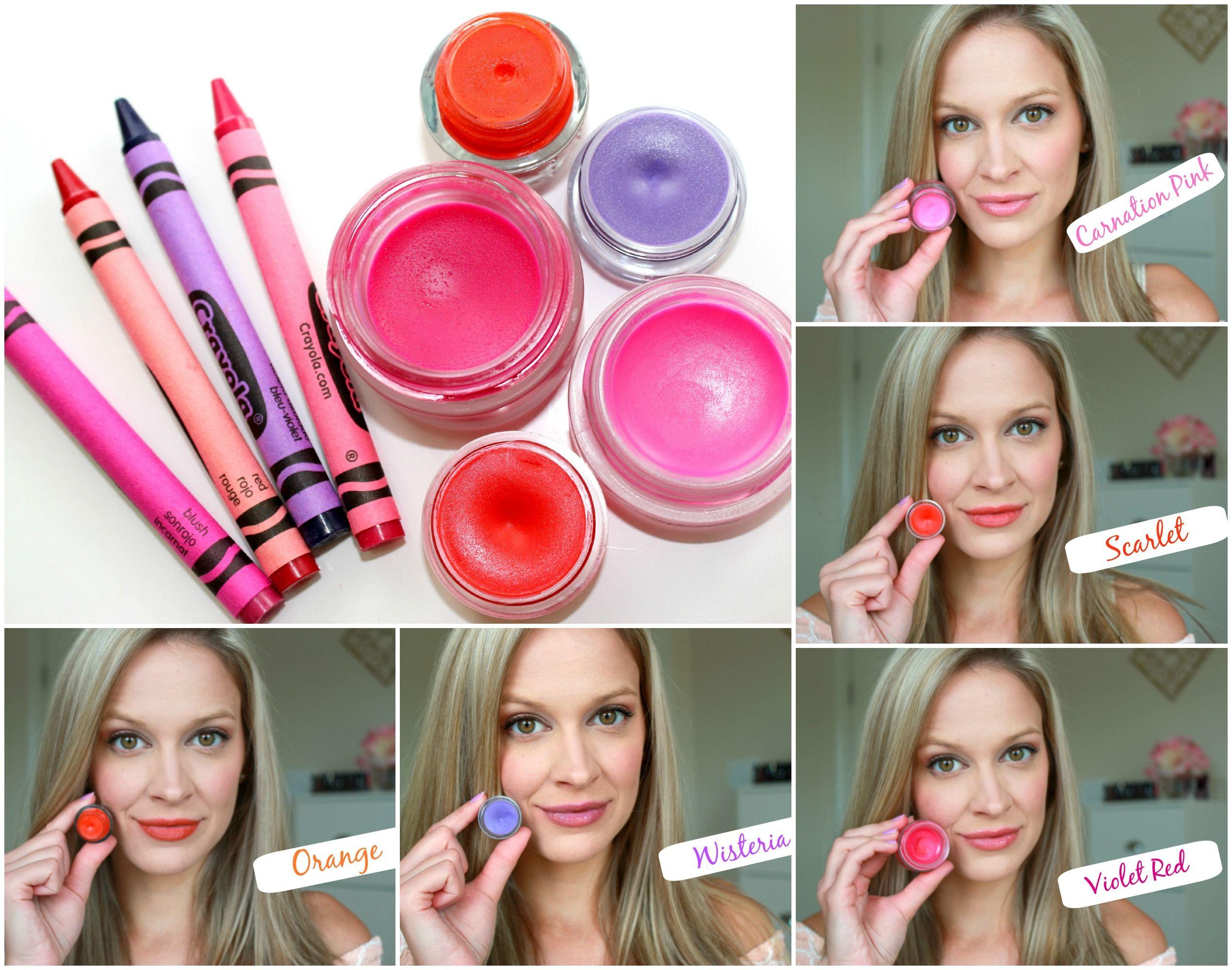 Diy lipstick made out of crayons bentleyblonde diy