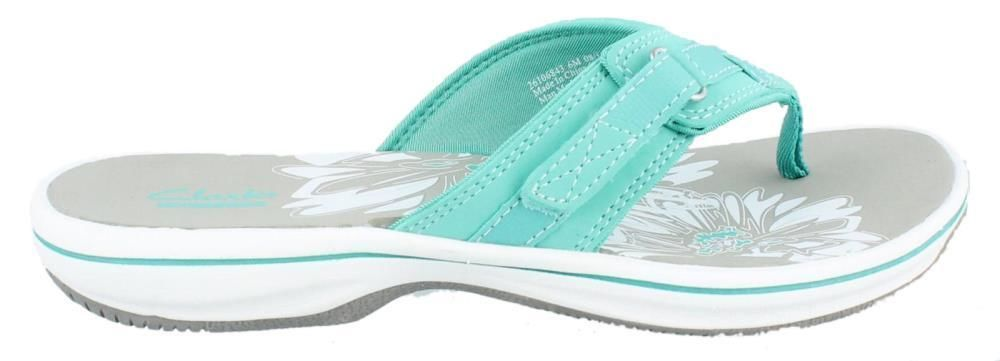 caeac001863c Clarks Breeze Sea Sporty Thong Sandals Womens Flip Flops Shoes Low Heel   Clarks  FlipFlops