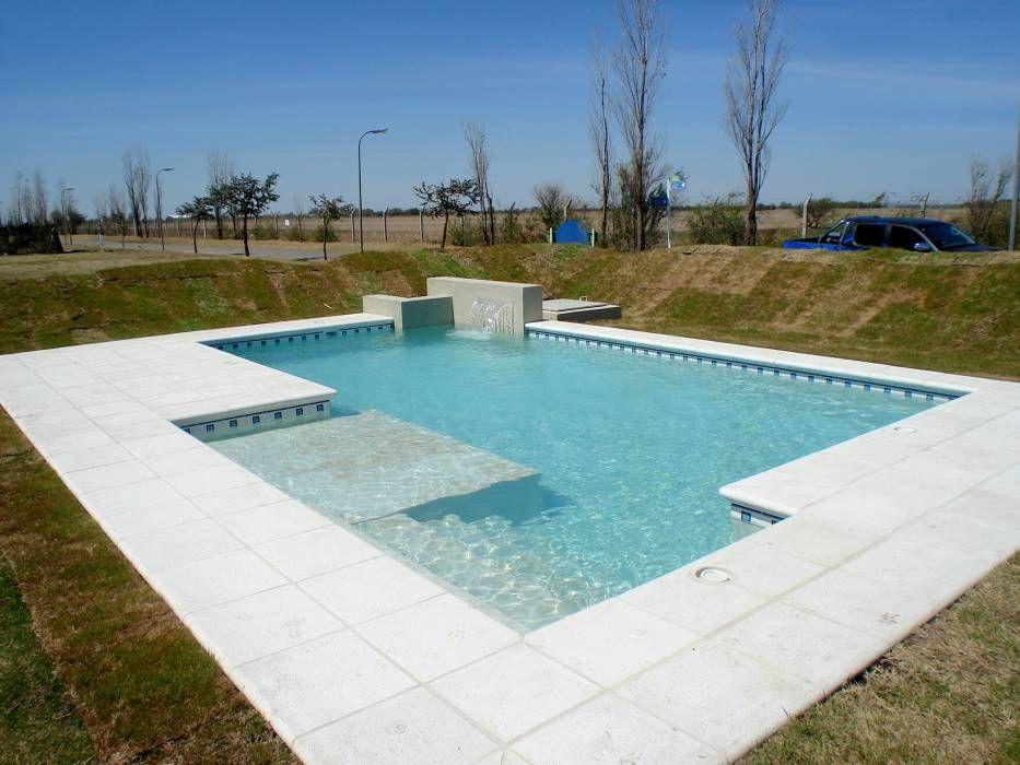 Piscinas familiares piletas de estilo por piscinas scualo for Construccion de piscinas de concreto