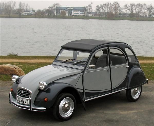 1980 Citroen 2CV Charleston. I'm not keen on bug wedding-y ceremony things, but if I could get a ride on that day in a Citroen 2CV Charleston that would be great. Actually I could ride this any day.